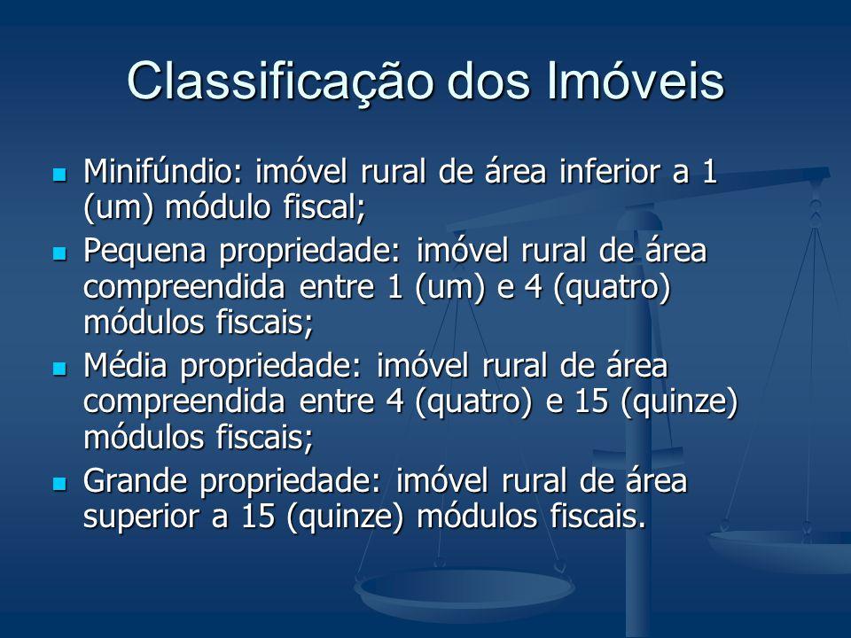 Classificação dos Imóveis