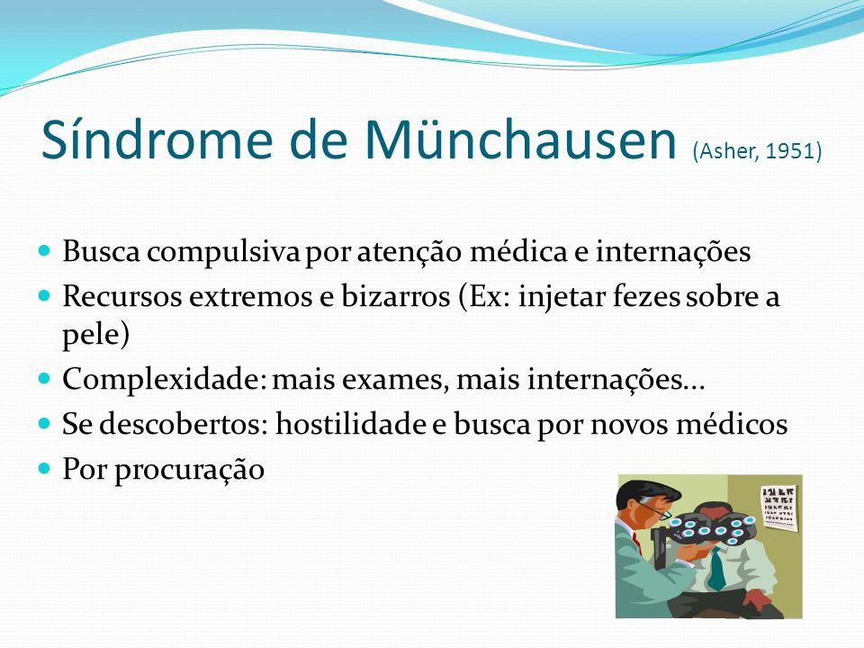 Síndrome de Münchausen (Asher, 1951)