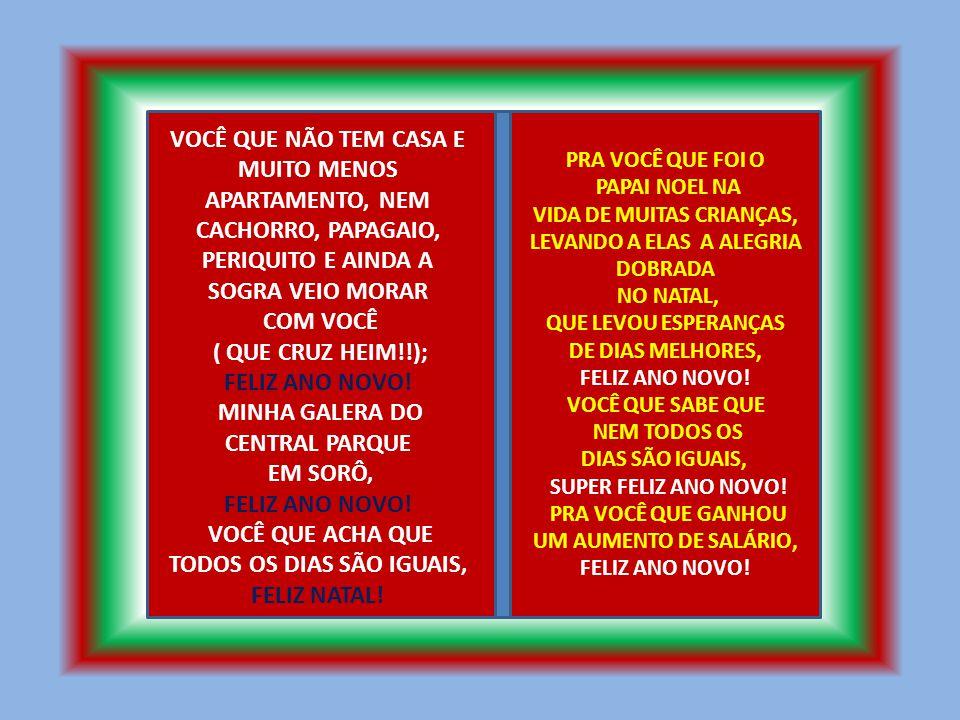 MINHA GALERA DO CENTRAL PARQUE EM SORÔ,