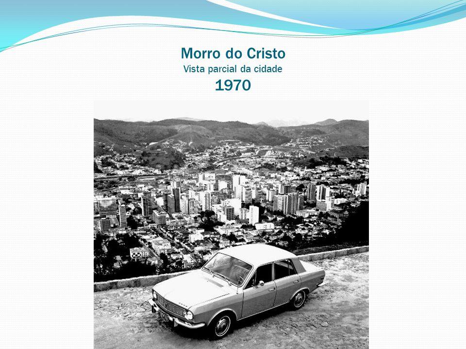 Morro do Cristo Vista parcial da cidade 1970