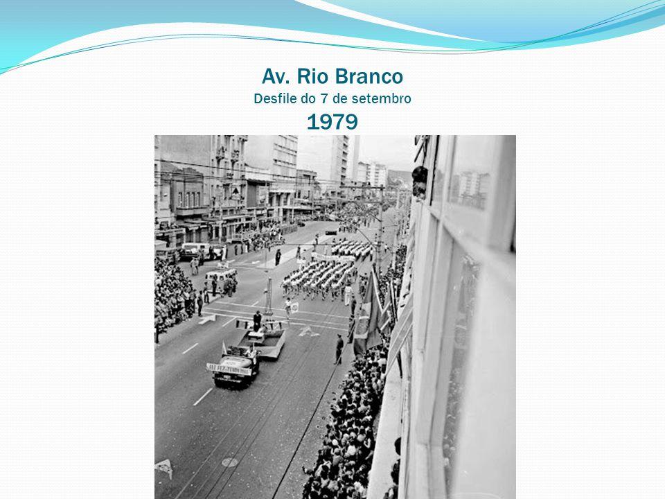 Av. Rio Branco Desfile do 7 de setembro 1979