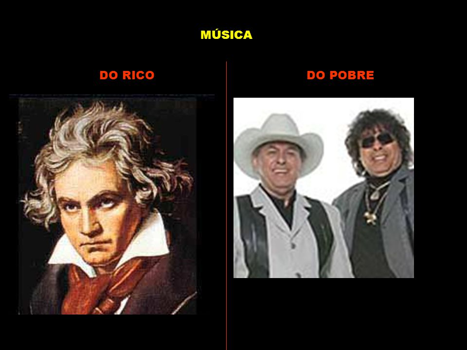 MÚSICA DO RICO DO POBRE