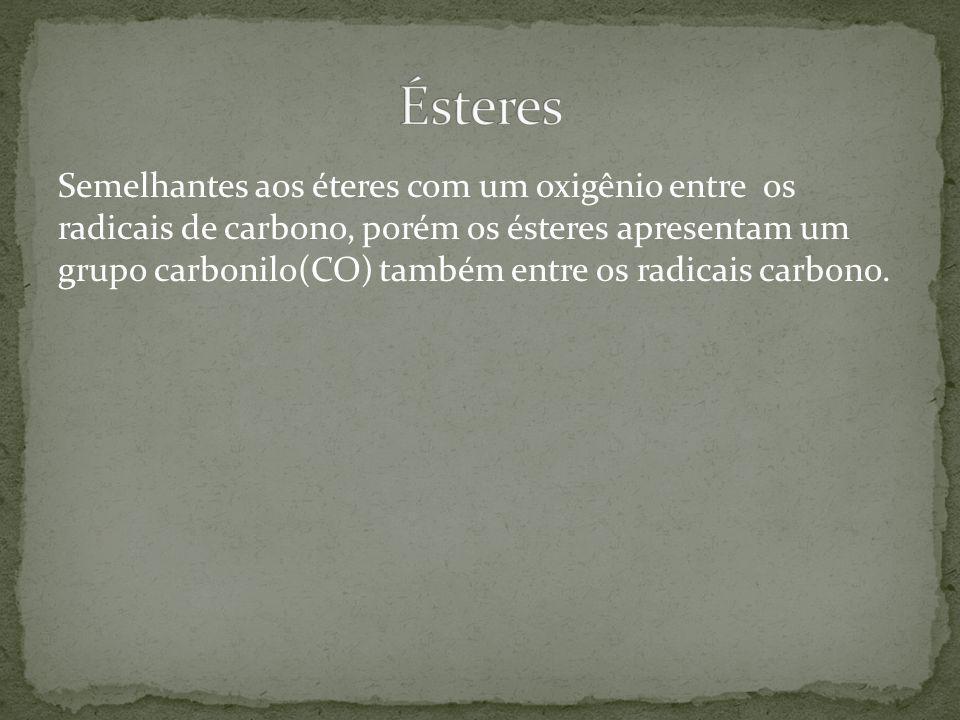 Ésteres