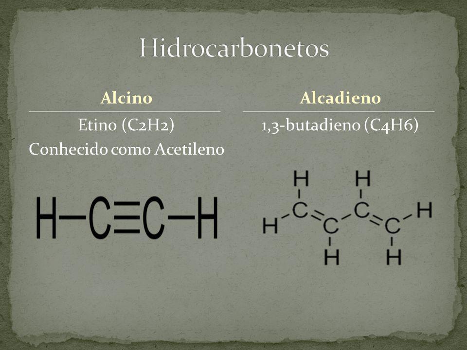 Etino (C2H2) Conhecido como Acetileno