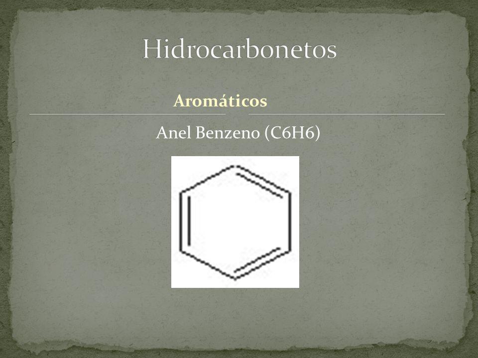 Hidrocarbonetos Aromáticos Anel Benzeno (C6H6)