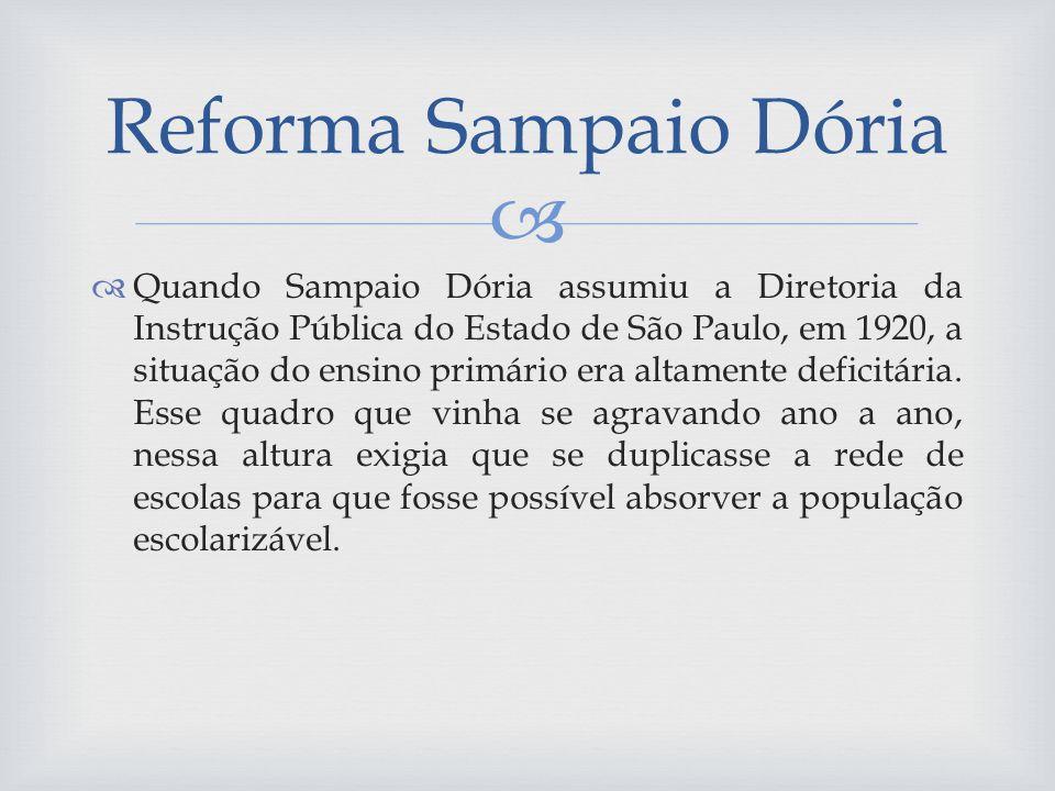 Reforma Sampaio Dória