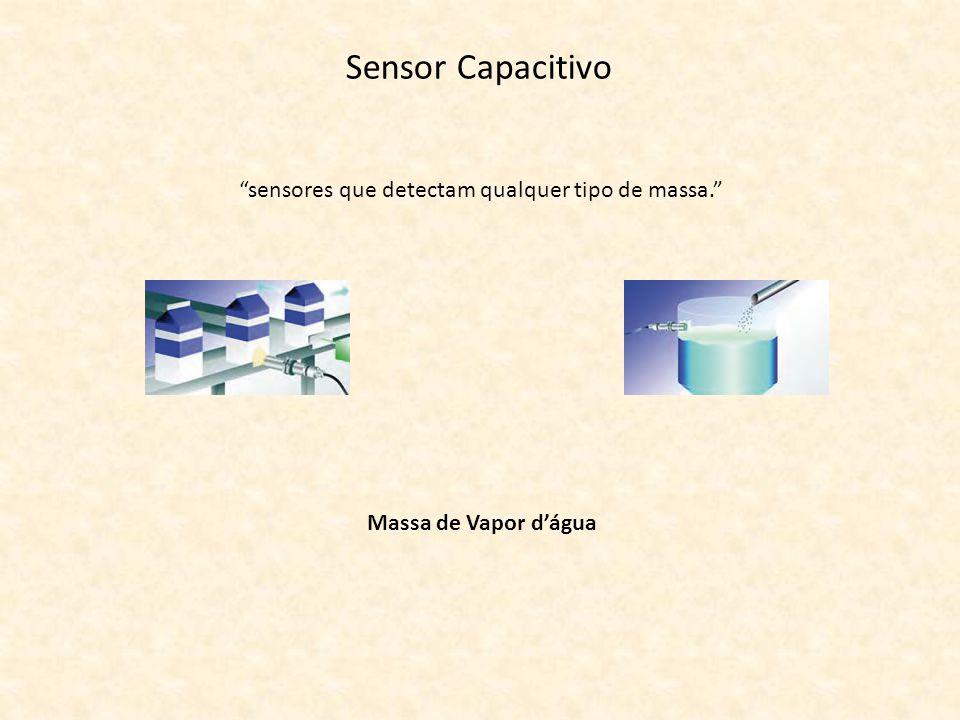 sensores que detectam qualquer tipo de massa.