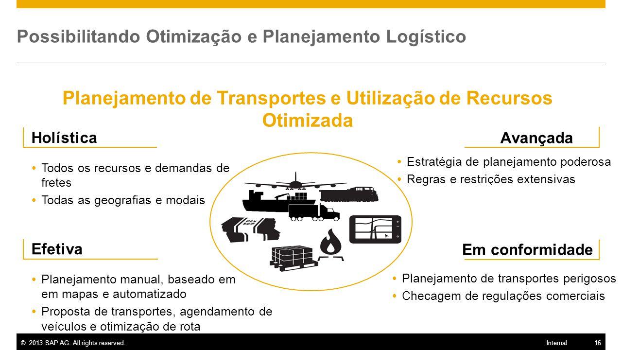 Possibilitando Otimização e Planejamento Logístico
