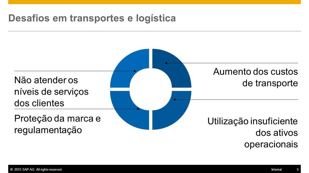 Desafios em transportes e logística