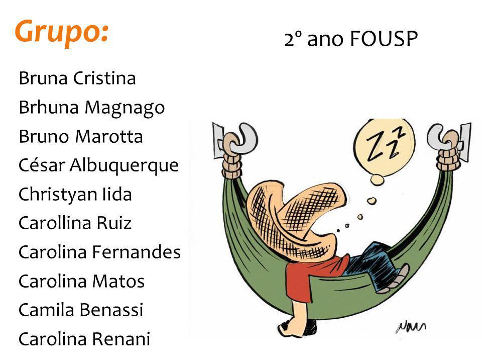 Grupo: 2º ano FOUSP.