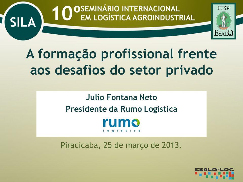 A formação profissional frente aos desafios do setor privado