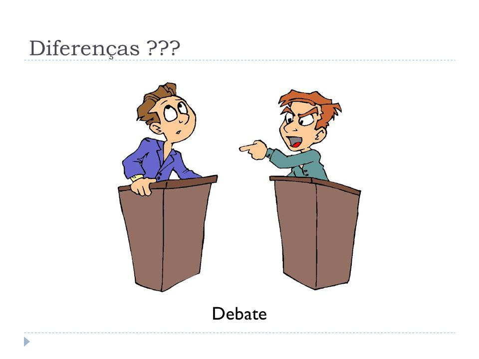 Diferenças Debate