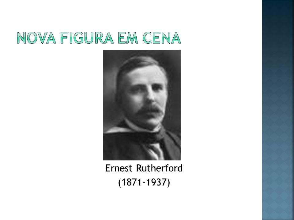 Nova figura em cena Ernest Rutherford (1871-1937)
