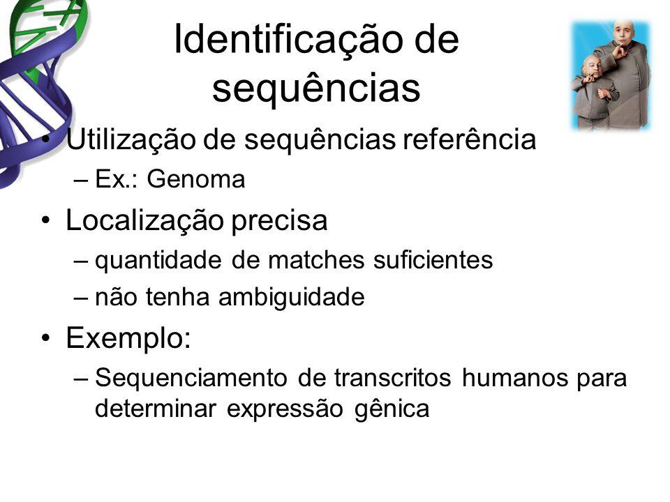Identificação de sequências