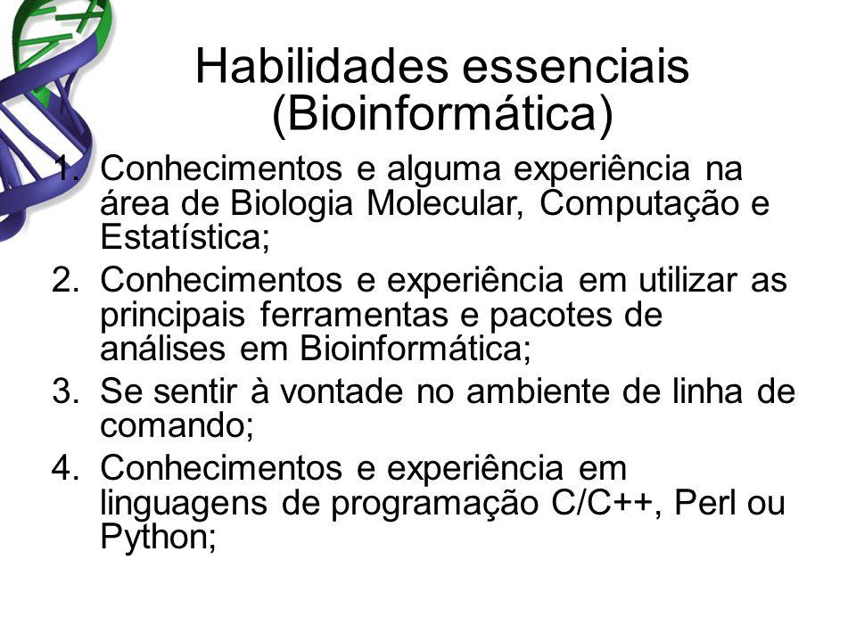 Habilidades essenciais (Bioinformática)