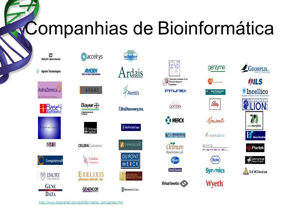 Companhias de Bioinformática