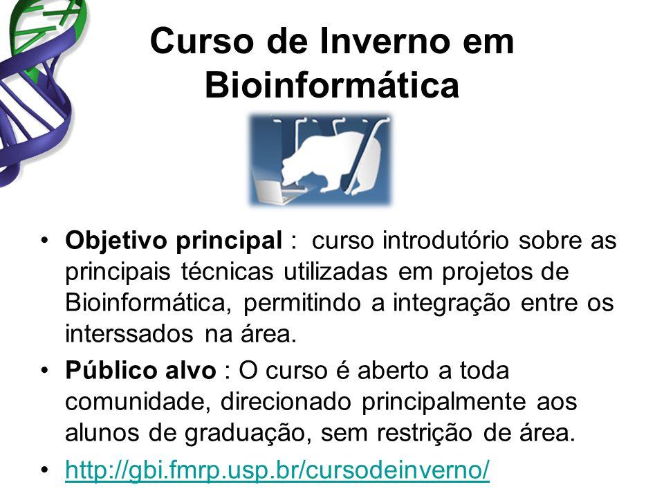 Curso de Inverno em Bioinformática