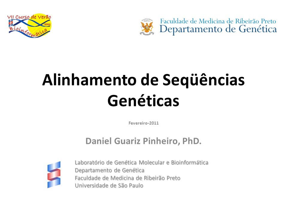 Alinhamento de Seqüências Genéticas