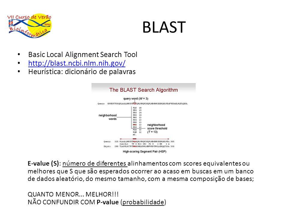 BLAST Basic Local Alignment Search Tool http://blast.ncbi.nlm.nih.gov/