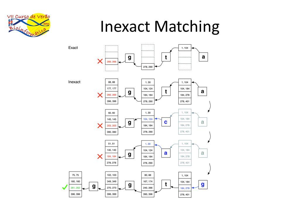 Inexact Matching