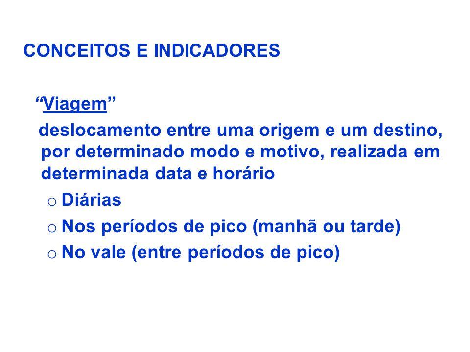 CONCEITOS E INDICADORES
