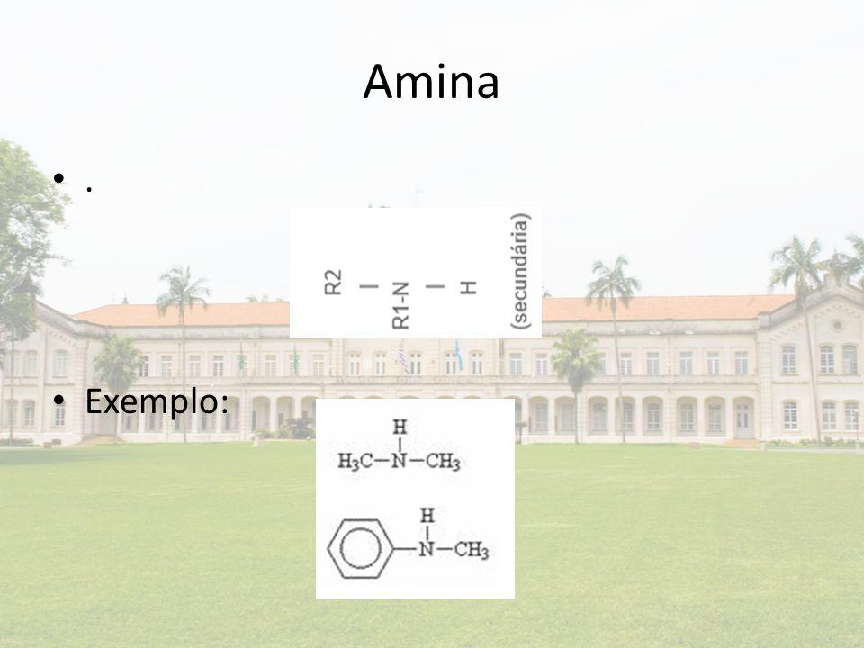 Amina . Exemplo: