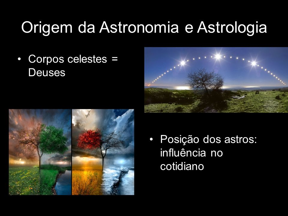 Origem da Astronomia e Astrologia