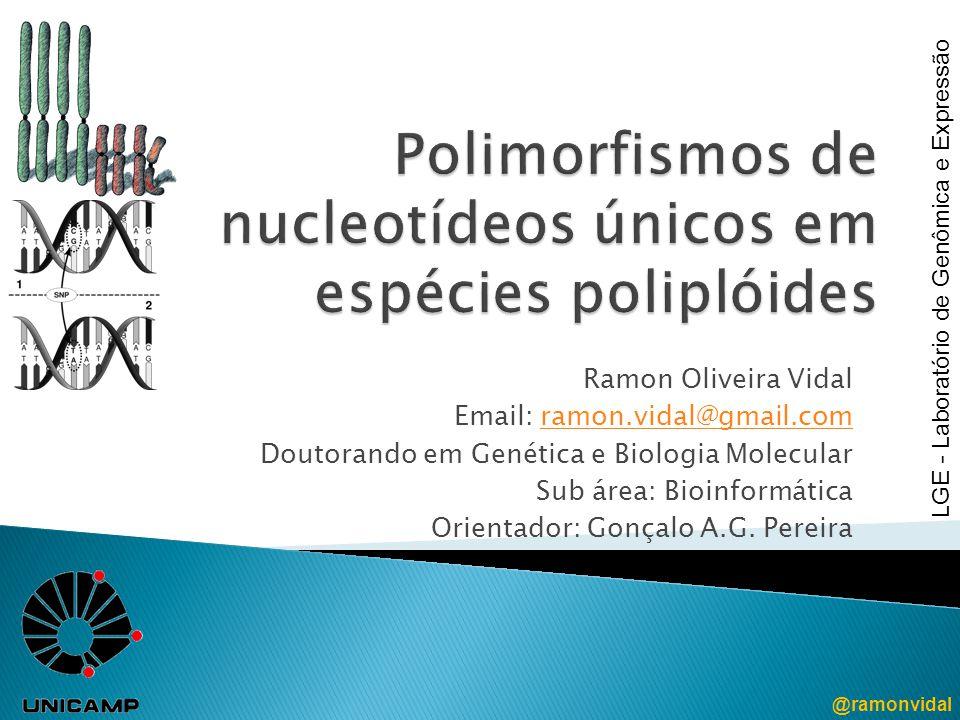 Polimorfismos de nucleotídeos únicos em espécies poliplóides