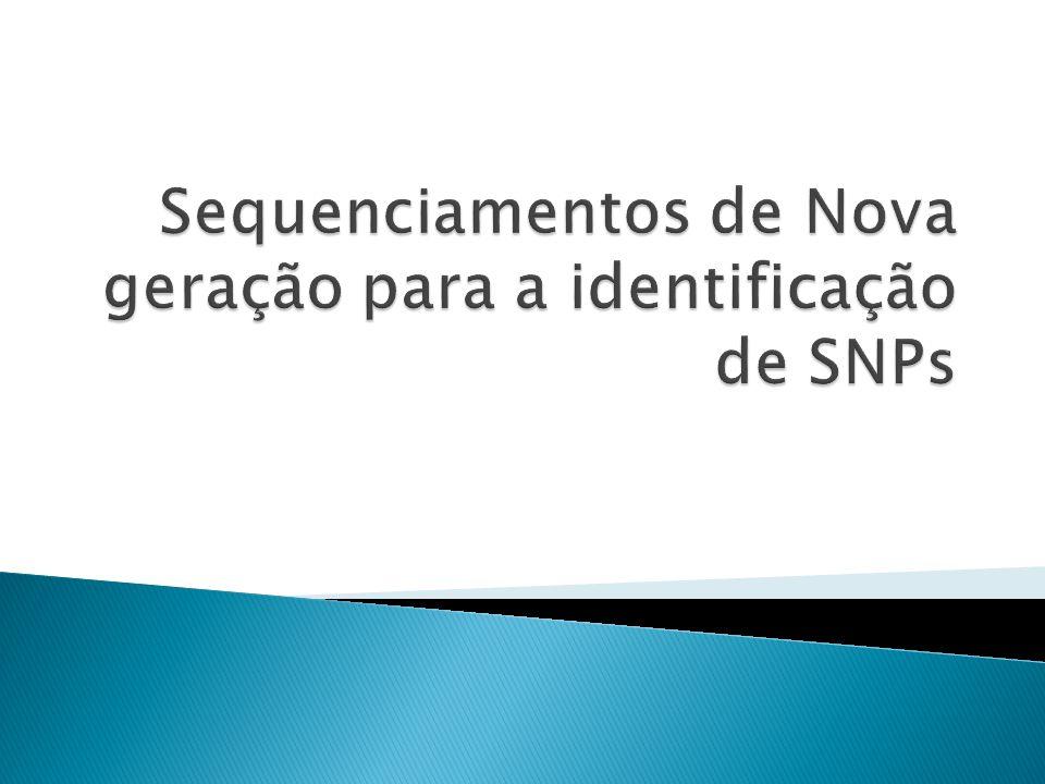 Sequenciamentos de Nova geração para a identificação de SNPs