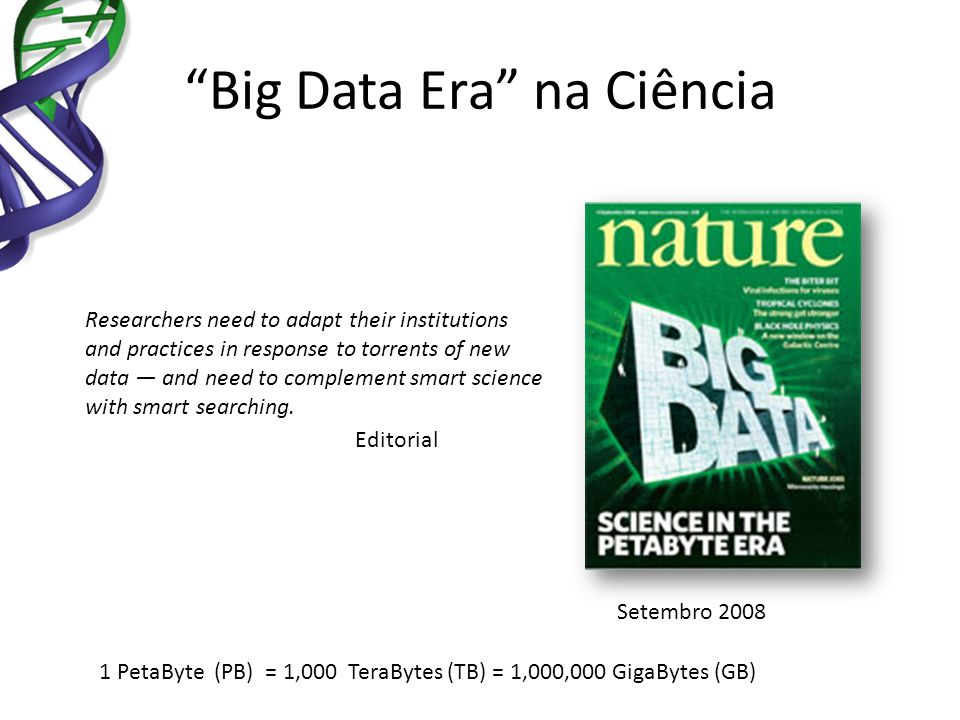 Big Data Era na Ciência