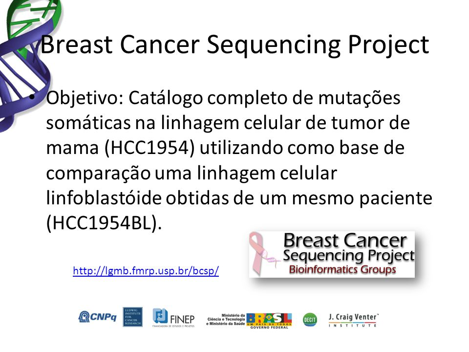 Breast Cancer Sequencing Project