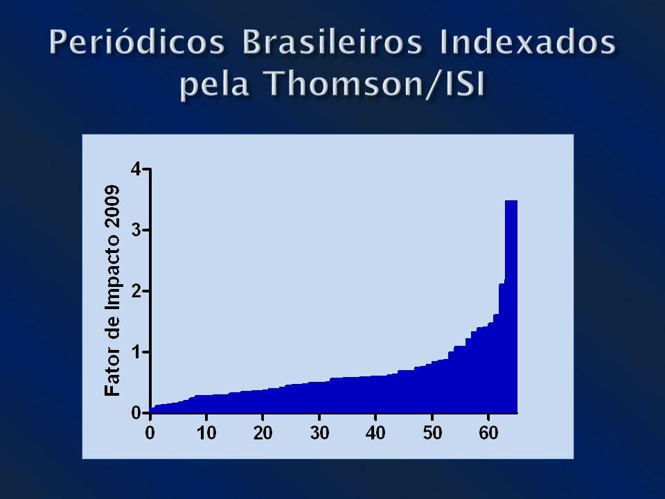 Periódicos Brasileiros Indexados pela Thomson/ISI