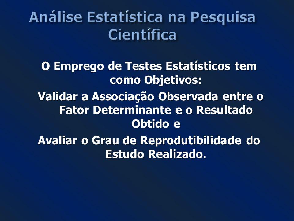 Análise Estatística na Pesquisa Científica