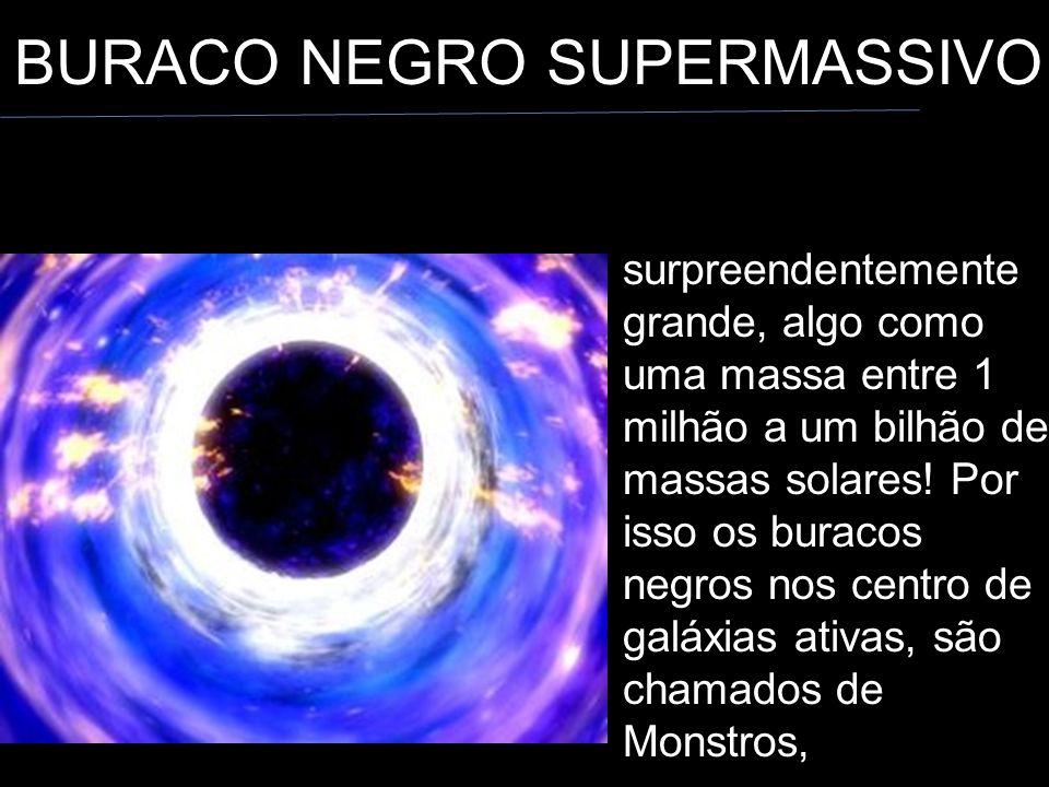 BURACO NEGRO SUPERMASSIVO