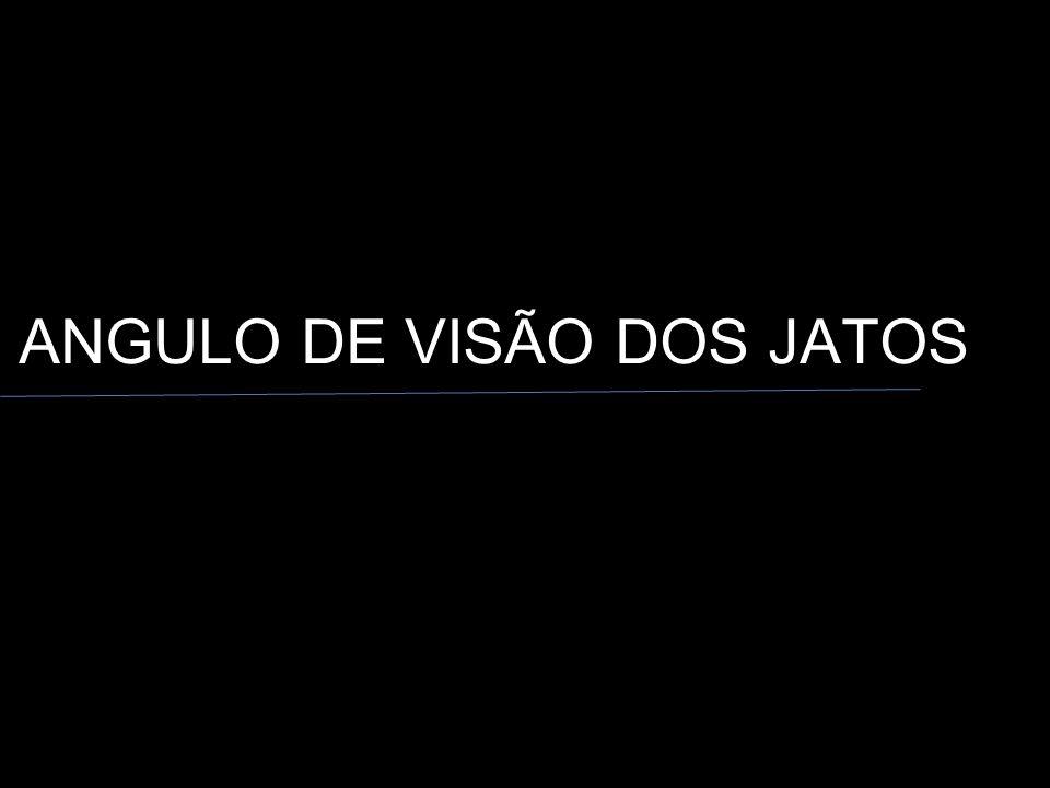 ANGULO DE VISÃO DOS JATOS