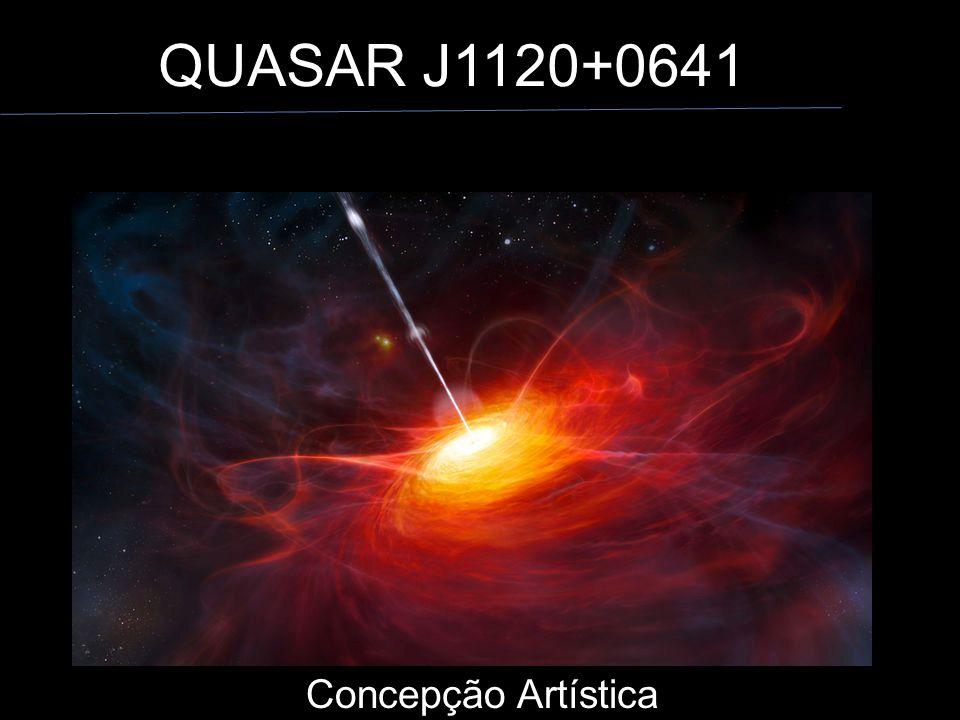 QUASAR J1120+0641 Concepção Artística Concepção Artística