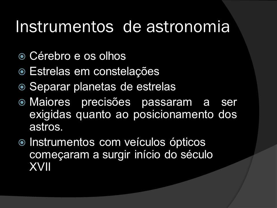 Instrumentos de astronomia