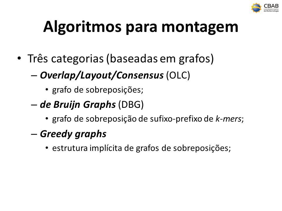 Algoritmos para montagem