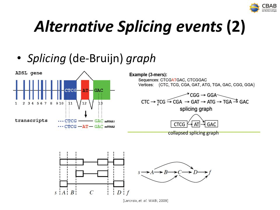 Alternative Splicing events (2)