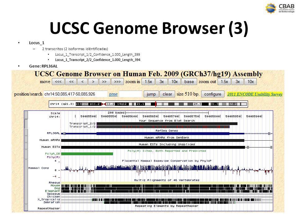 UCSC Genome Browser (3) Locus_1 Gene: RPL36AL