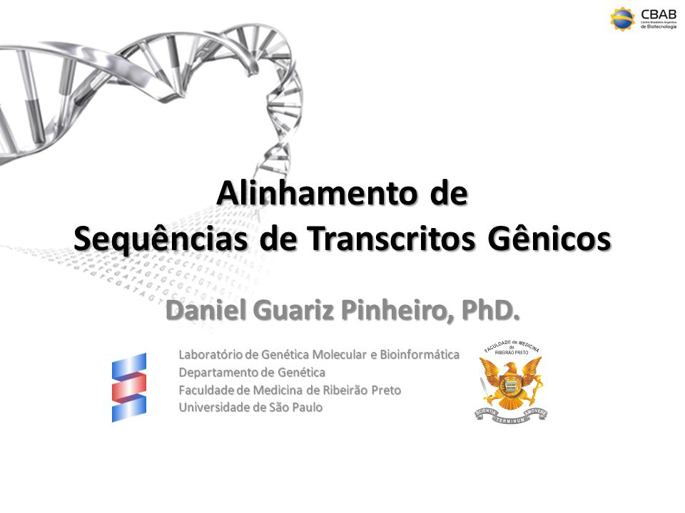 Alinhamento de Sequências de Transcritos Gênicos