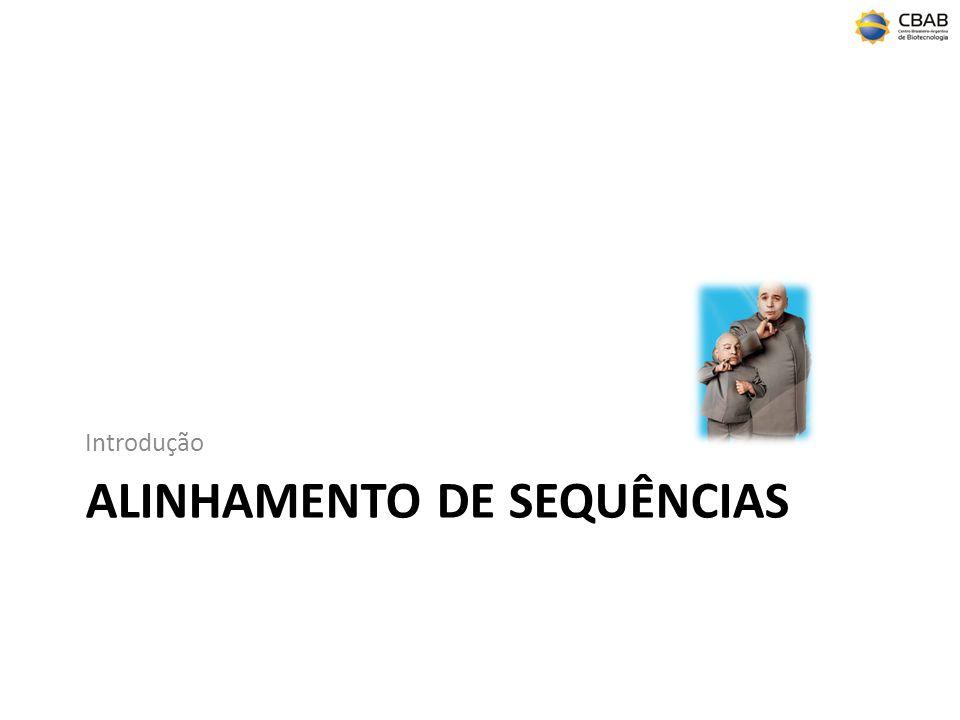 alinhamento de sequências