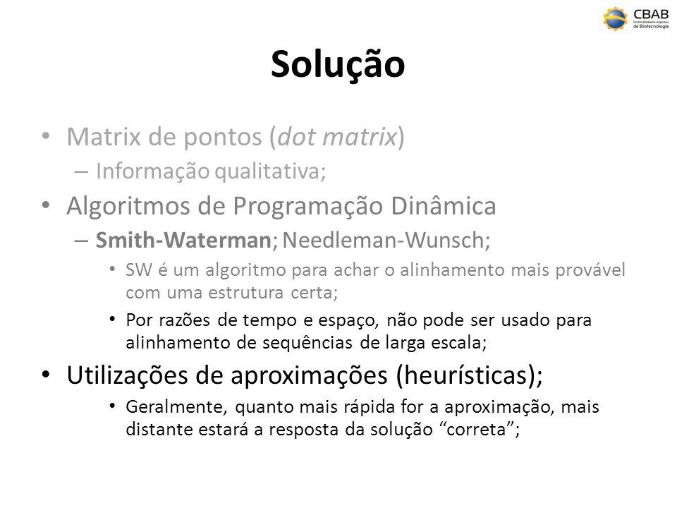 Solução Matrix de pontos (dot matrix)