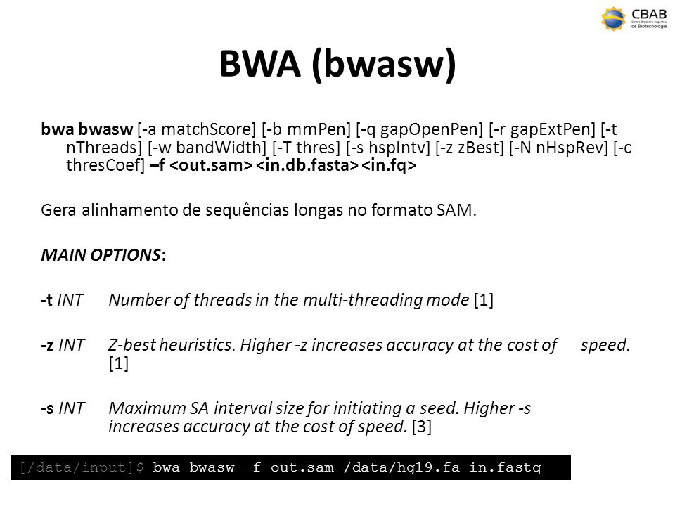 BWA (bwasw)