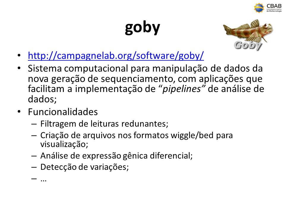 goby http://campagnelab.org/software/goby/