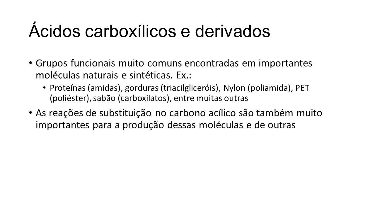 Ácidos carboxílicos e derivados