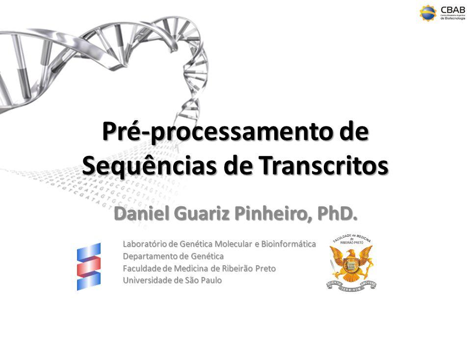 Pré-processamento de Sequências de Transcritos
