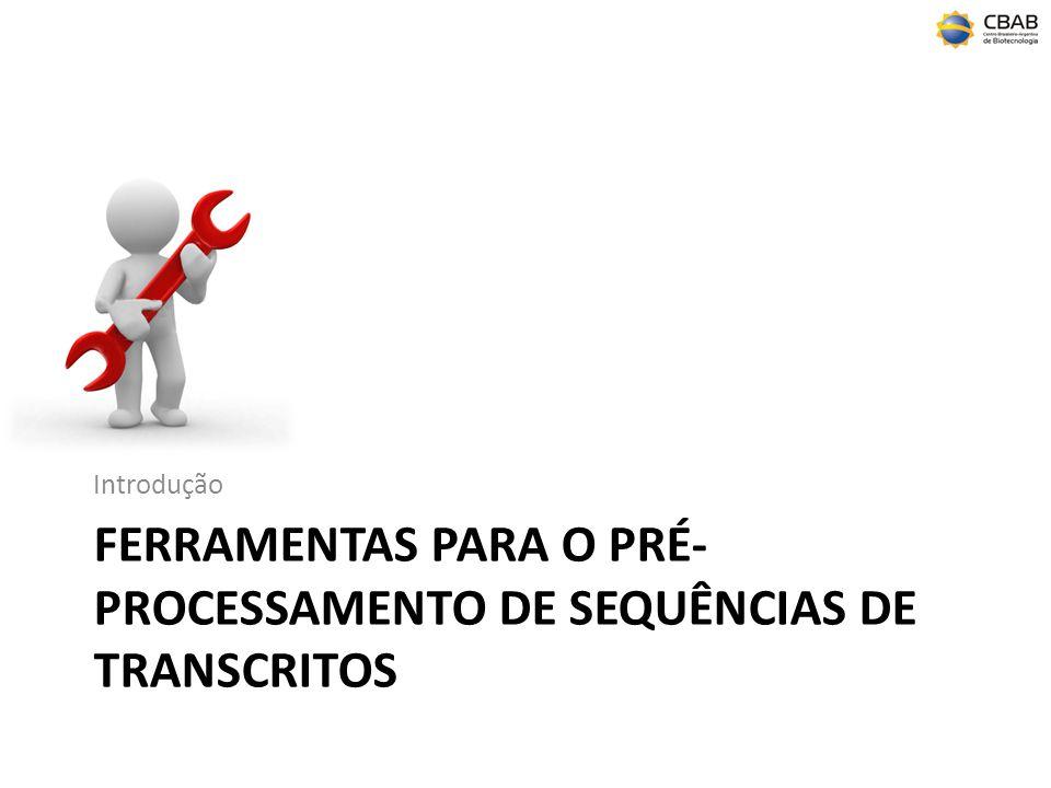 ferramentas para o pré-processamento de sequências de transcritos