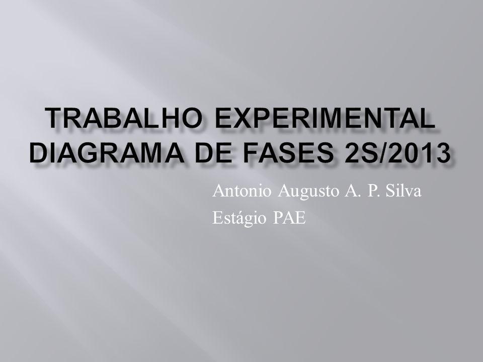 Trabalho Experimental Diagrama de Fases 2S/2013