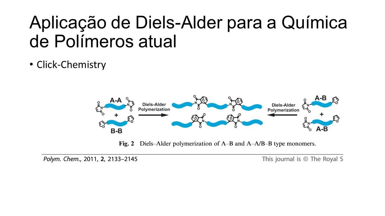 Aplicação de Diels-Alder para a Química de Polímeros atual